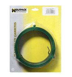 Alambre Plastificado Maurer 1,2 mm Verde (Rollo 50 metros)