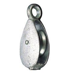 """Sujetacables Galvanizado 20 mm. 3/4"""" Uso Domestico"""