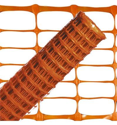 Tela Balizamiento Naranja 1,0 metro. Rollo 50 metros