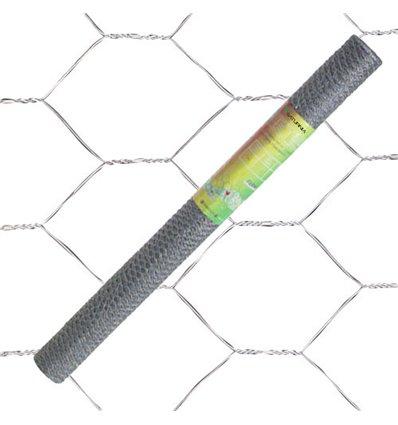 Enrejado Triple Torsion 16/ 100 cm. Rollo 10 Metros Uso Domestico
